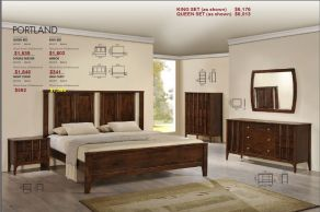 PORTLAND BEDROOM COLLECTION by Zuo Modern