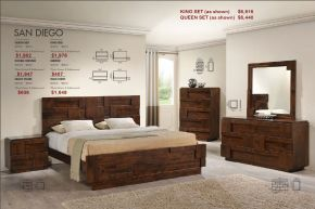 SAN DIEGO BEDROOM COLLECTION by Zuo Modern
