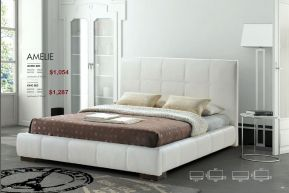 AMELIE KING OR QUEEN BED by Zuo