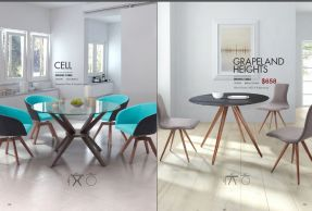 CELL & GRAPELAND HEIGHTS DINING TABLES by Zuo
