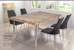 COLLAGE DINING TABLE by Zuo