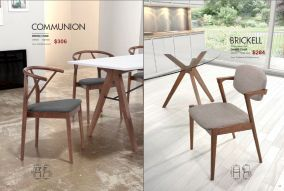 COMMUNION & BRICKELL DINING CHAIRS by Zuo