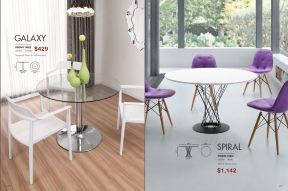 GALAXY & SPIRAL DINING TABLES by Zuo