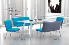HOPE DINING CHAIR & BENCH by Zuo