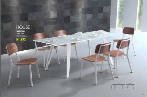HOUSE DINING TABLE by Zuo
