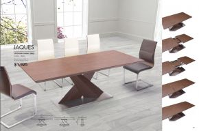 JAQUES EXTENSION DINING TABLE by Zuo