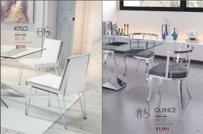 KYLO & QUINCE DINING CHAIRS by Zuo