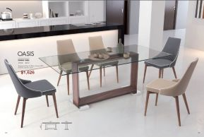 OASIS DINING TABLE by Zuo
