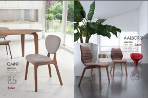 OMNI & AALBORG DINING CHAIRS by Zuo
