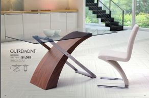 OUTREMONT DINING TABLE by Zuo
