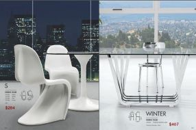S & WINTER DINING CHAIRS by Zuo