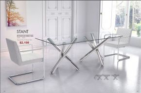 STANT RECTANGULAR DINING TABLE by Zuo