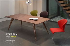 STOCKHOLM DINING TABLE by Zuo