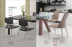 TRAFICO & WHISP DINING CHAIRS by Zuo