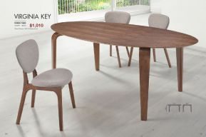VIRGINIA KEY DINING TABLE by Zuo