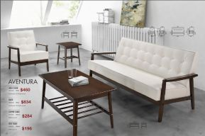AVENTURA LIVINGROOM SET by Zuo