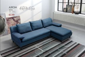 AXIOM SECTIONAL by Zuo
