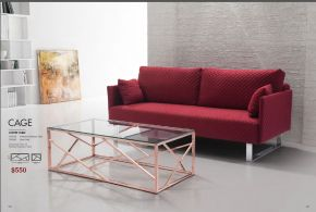 CAGE COFFEE TABLE by Zuo