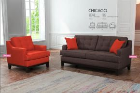 CHICAGO ARM CHAIR & SOFA by Zuo