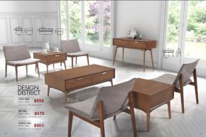 DESIGN DISTRICT COFFEE, SIDE & CONSOLE TABLES by Zuo