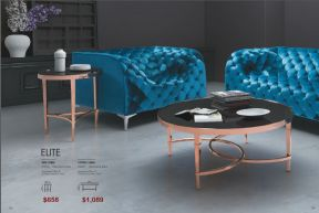 ELITE SIDE & COFFEE TABLE by Zuo