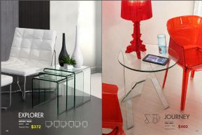 EXPLORER NESTING & JOURNEY SIDE TABLES by Zuo