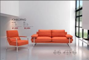 JONKOPING ARM CHAIR & SOFA by Zuo