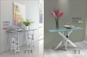 LADO CONSOLE & STANCE CONSOLE TABLES by Zuo