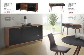 LIBERTY CITY BUFFET & CONSOLE TABLE by Zuo