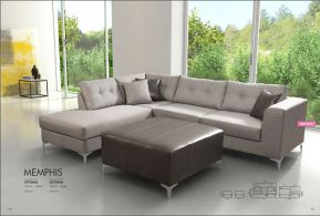 MEMPHIS OTTOMAN & SECTIONAL by Zuo