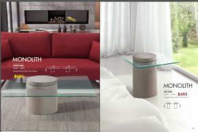 MONOLITH COFFEE & SIDE TABLES by Zuo