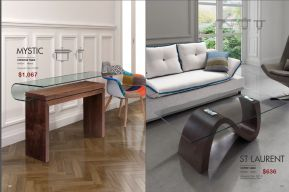 MYSTIC CONSOLE & ST. LAURENT COFFEE TABLES by Zuo