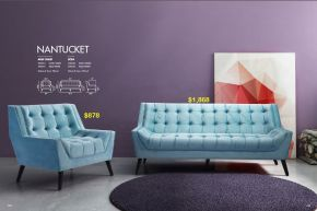 NANTUCKET ARM CHAIR & SOFA by Zuo