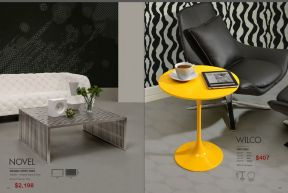 NOVEL COFFEE & WILCO SIDE TABLES by Zuo