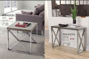 PARAGON SIDE & CONSOLE TABLE by Zuo