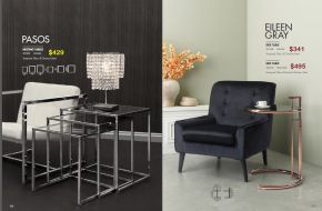 PASOS NESTING & EILEEN GRAY SIDE TABLES by Zuo
