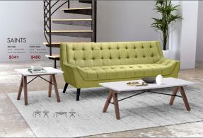 SAINTS SIDE & COFFEE TABLE by Zuo