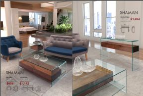 SHAMAN SIDE, COFFEE & CONSOLE TABLES by Zuo