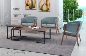 SISTER & COFFEE TABLE by Zuo