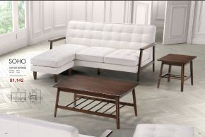 SOHO FLAT FLEX SECTIONAL by Zuo