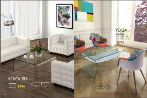SOJOURN & YOGA COFFEE TABLES by Zuo