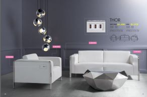 THOR ARM CHAIR & SOFA (with USB Ports) by Zuo