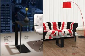 ZEON SIDE & COFFEE TABLE by Zuo
