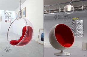 BOLO SUSPENDED & MIB OCCASIONAL CHAIRS by Zuo