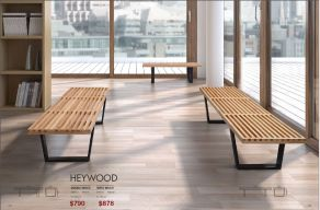 HEYWOOD BENCHES by Zuo