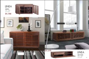 LINEA CREDENZA & WIDE TV STAND by Zuo