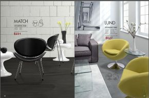 MATCH & LUND OCCASIONAL CHAIRS by Zuo