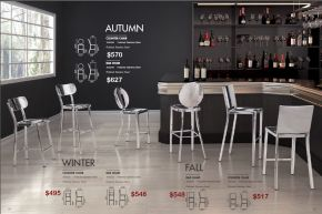 AUTUMN, FALL & WINTER BAR & COUNTER CHAIRS by Zuo