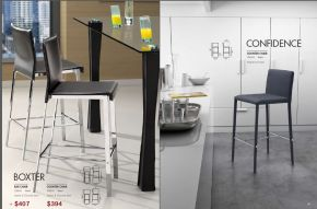 BOXTER & CONFIDENCE BAR & COUNTER CHAIRS by Zuo