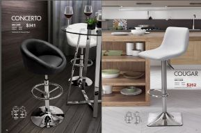 CONCERTO & COUGAR BAR CHAIRS by Zuo